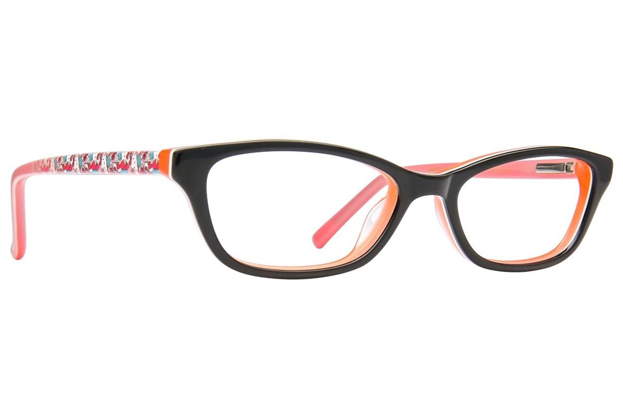 Hello Kitty HK274 Black Glasses