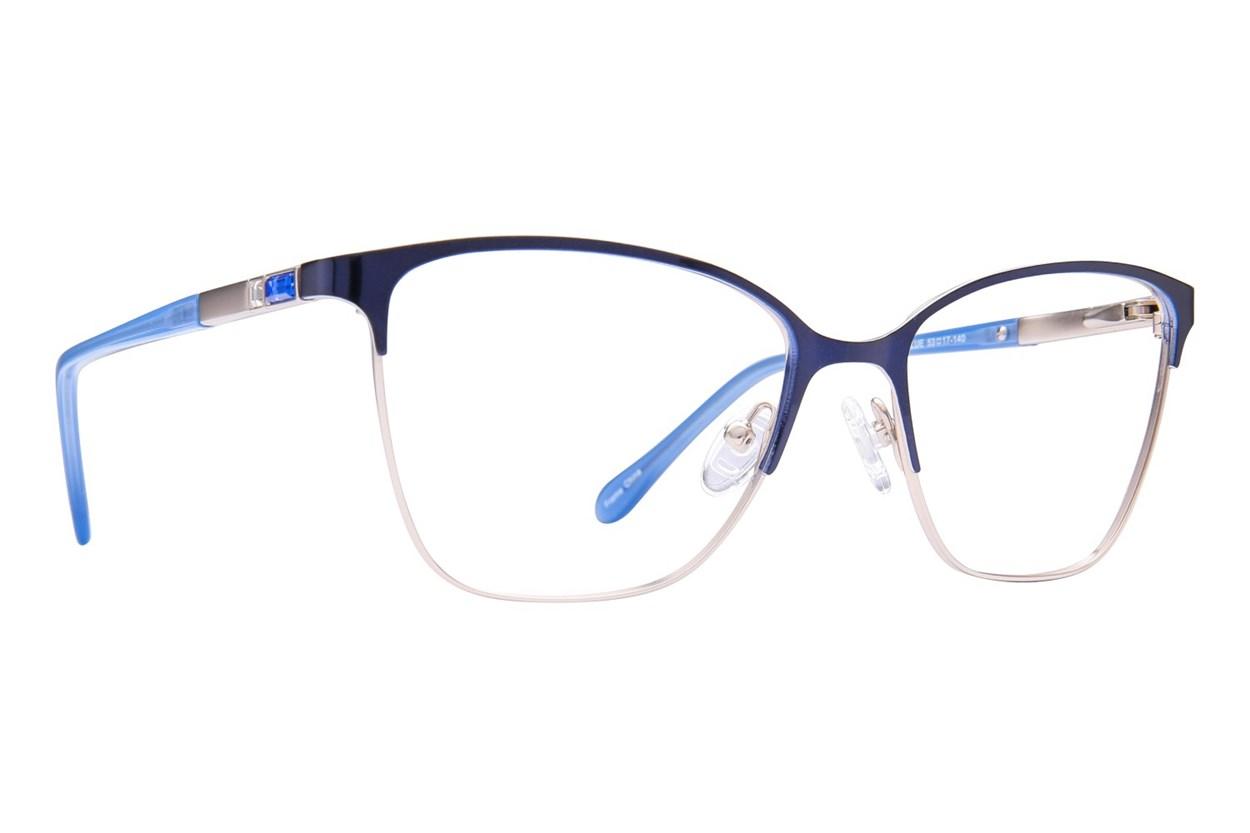Serafina Dolce Blue Glasses