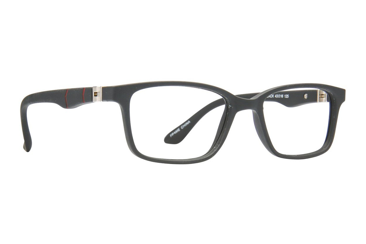 Eight To Eighty Eyewear Cody Black Glasses