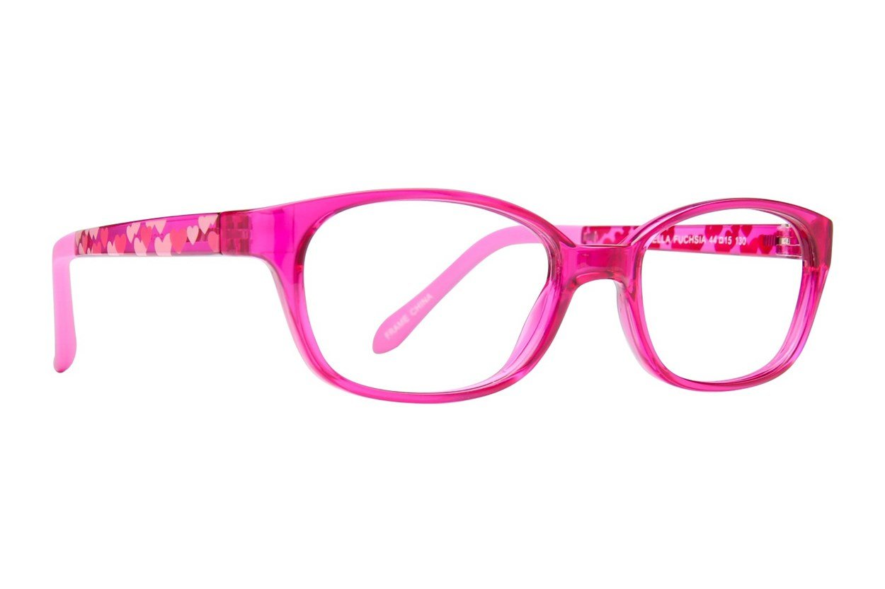 Eight To Eighty Eyewear Isabella Pink Glasses