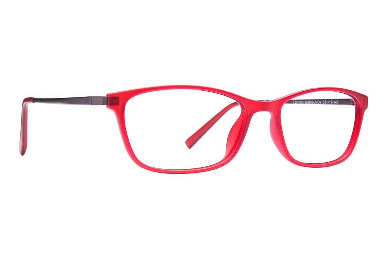 Lite Design LD1003 Red Glasses