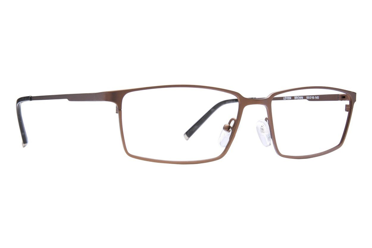 Lite Design LD1004 Brown Glasses