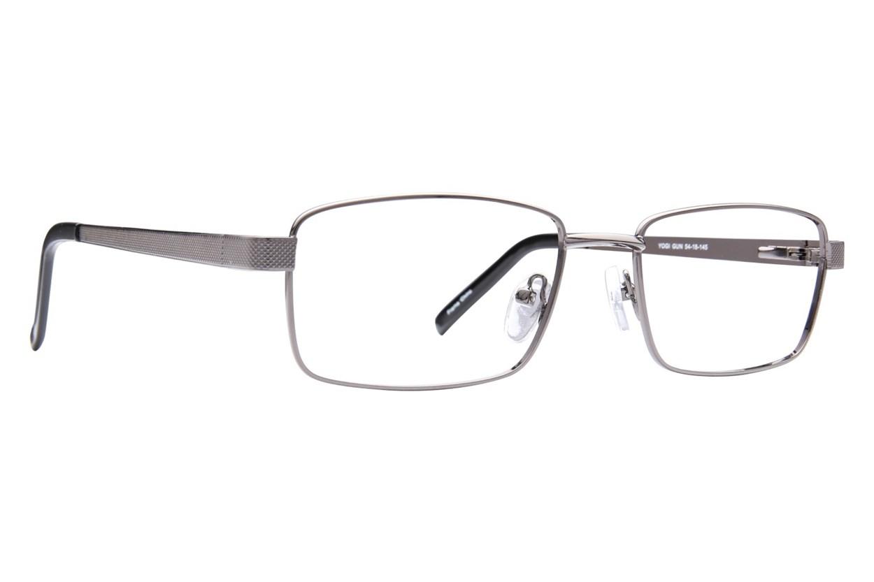 Affordable Designs Yogi Gray Glasses
