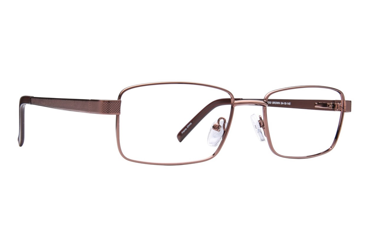 Affordable Designs Yogi Eyeglasses - Brown