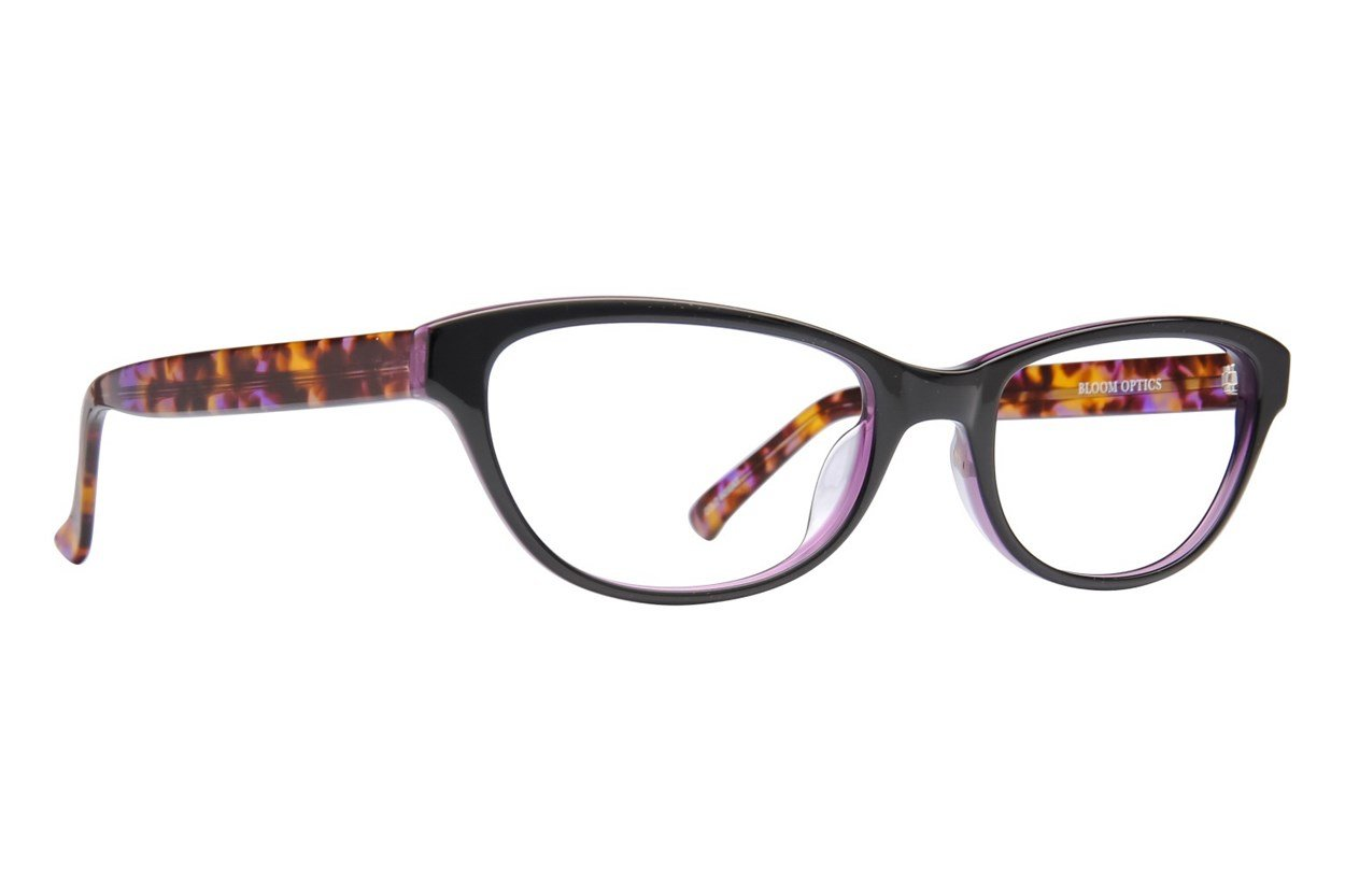 Bloom Optics Petite Charlotte Black Glasses