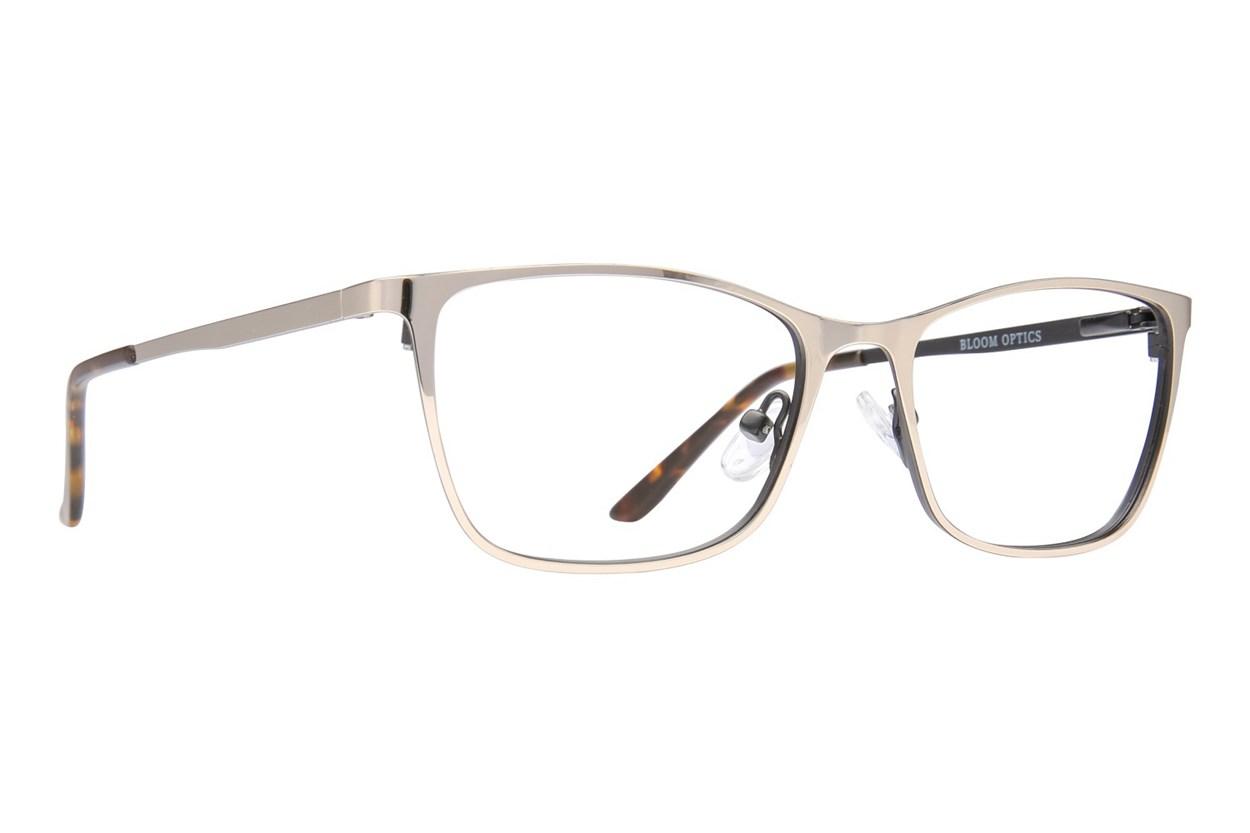 Bloom Optics Petite Ellen Gold Glasses