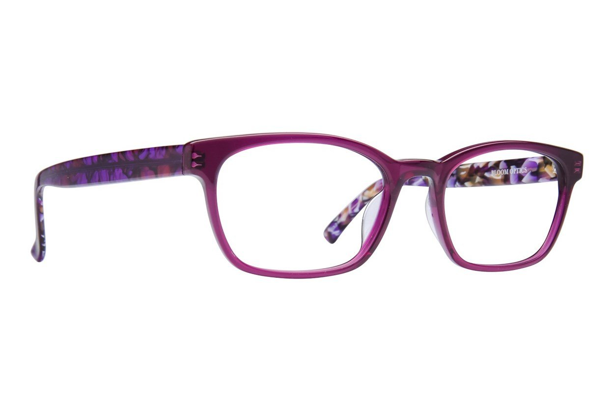 Bloom Optics Petite Lillian Purple Glasses