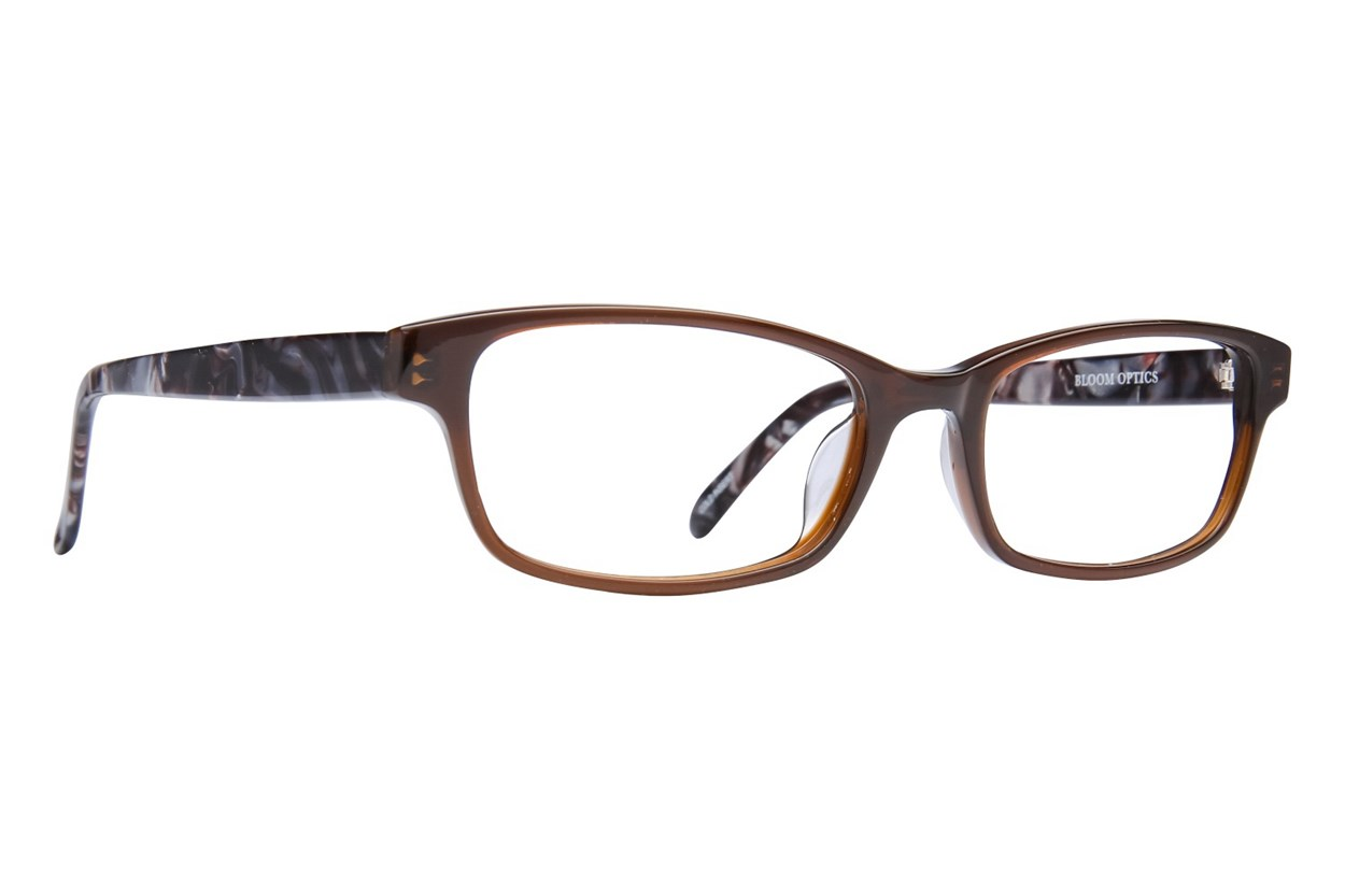 Bloom Optics Petite Paula Brown Glasses