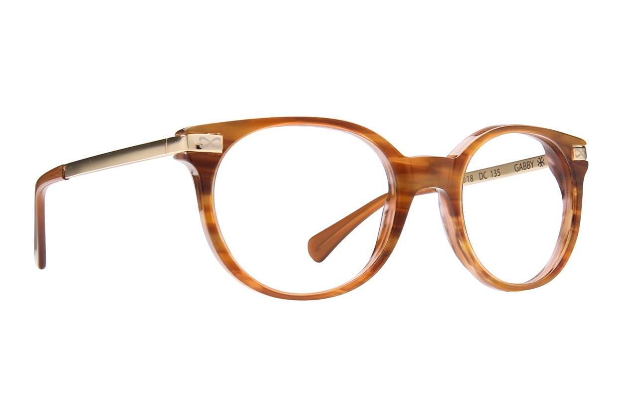 Velvet Eyewear Gabby Brown Glasses