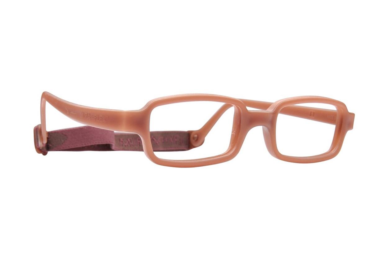 Miraflex New Baby 1 (3-6 Yrs) Brown Glasses