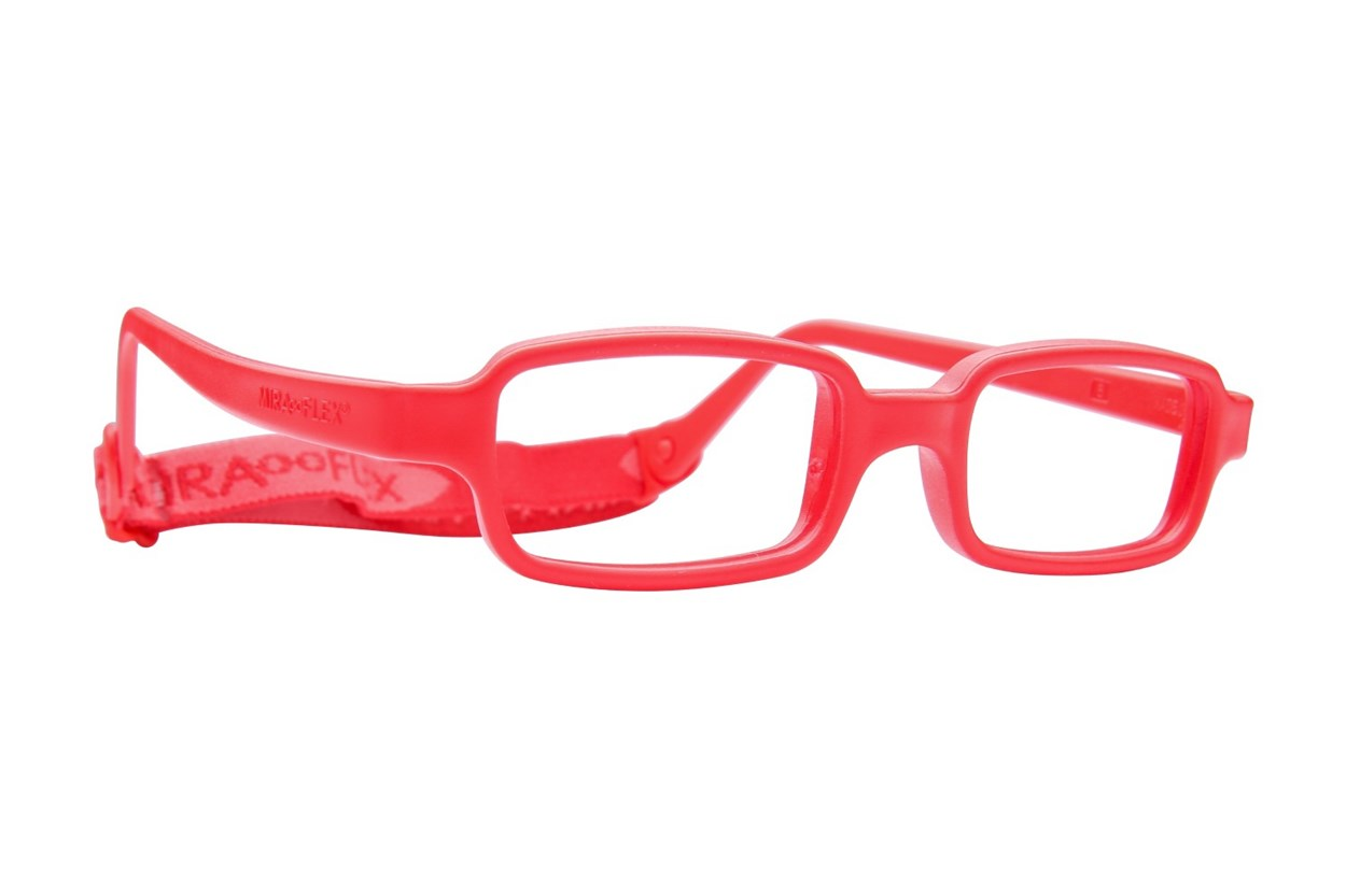 Miraflex New Baby 1 (3-6 Yrs) Red Glasses