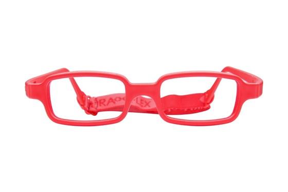 Miraflex New Baby 1 (3-6 Yrs) Red Glasses