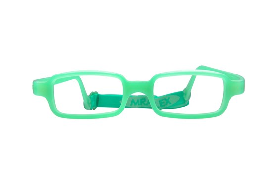 Miraflex New Baby 1 (3-6 Yrs) Green Glasses