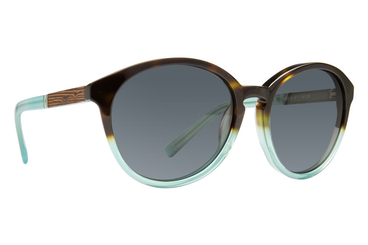 Shwood Bailey Green Sunglasses