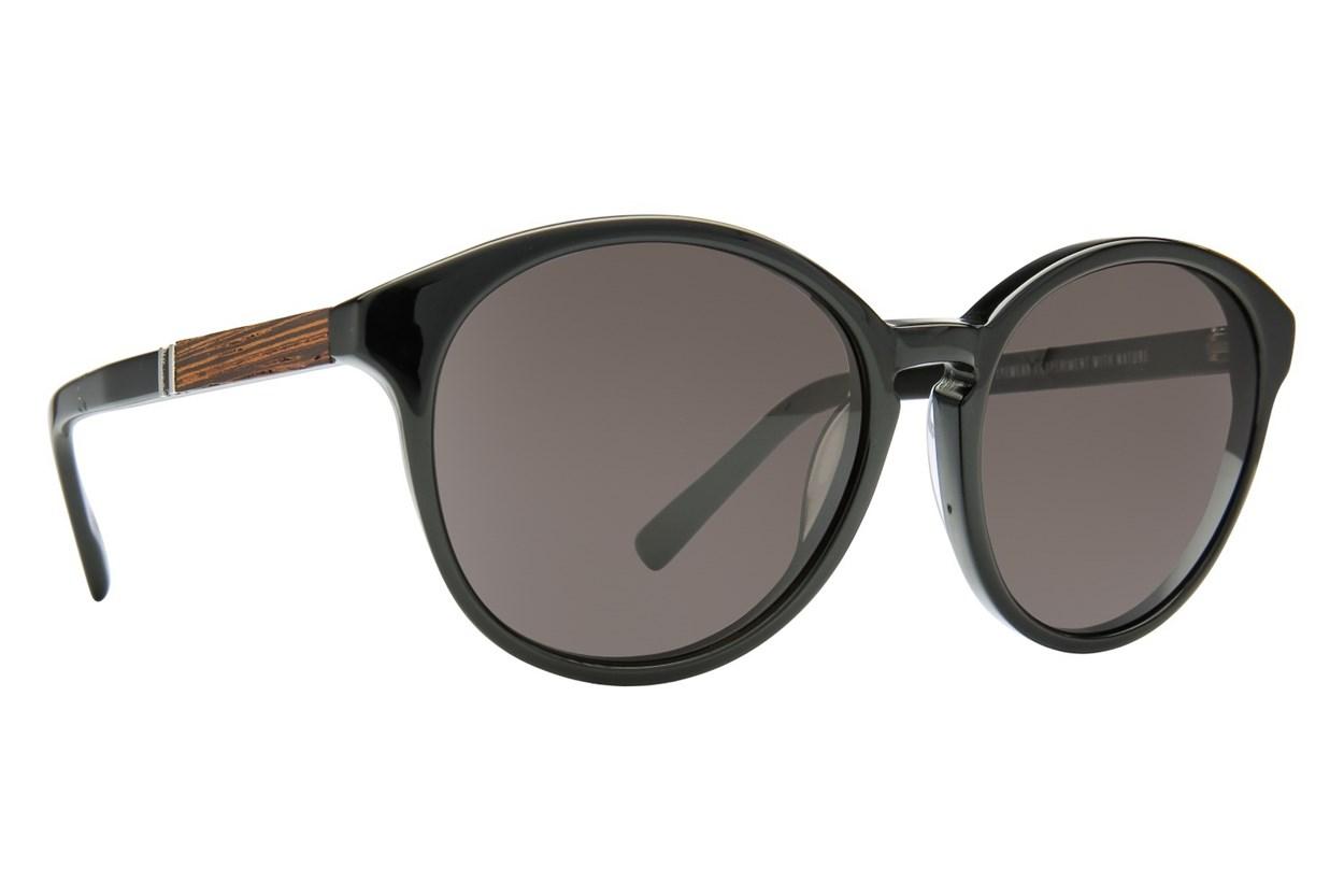 Shwood Bailey Black Sunglasses