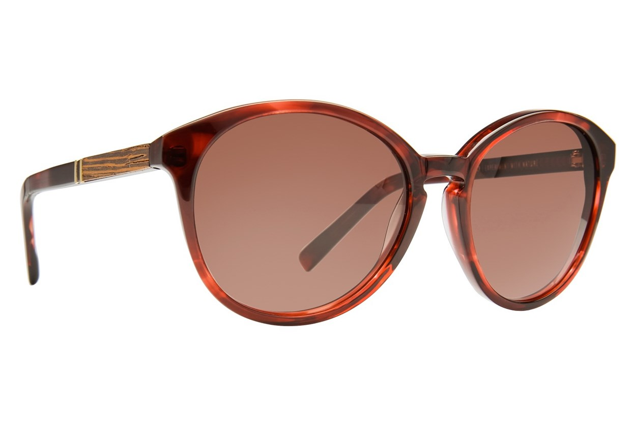 Shwood Bailey Red Sunglasses