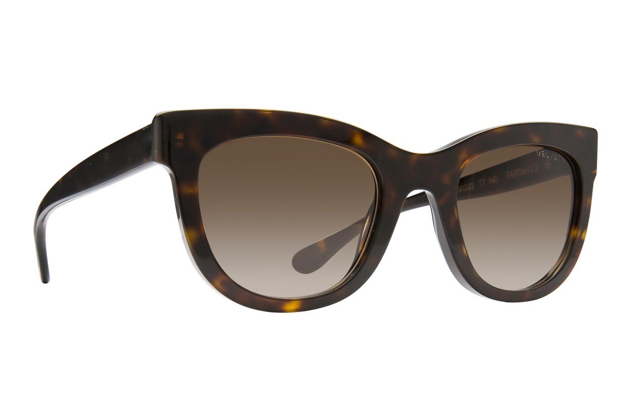 Velvet Eyewear Farrah - Large Tortoise Sunglasses
