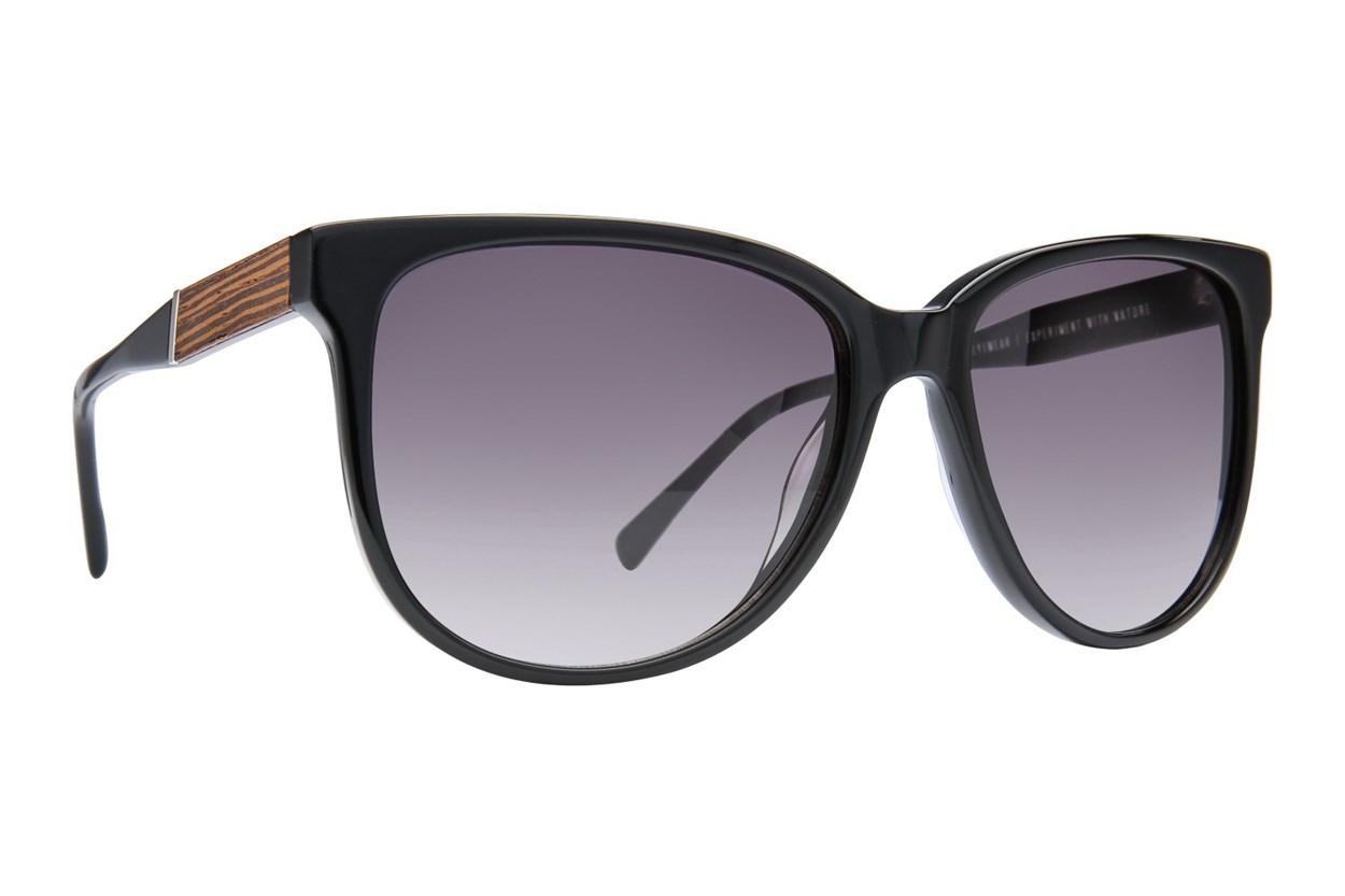 Shwood Mckenzie Black Sunglasses