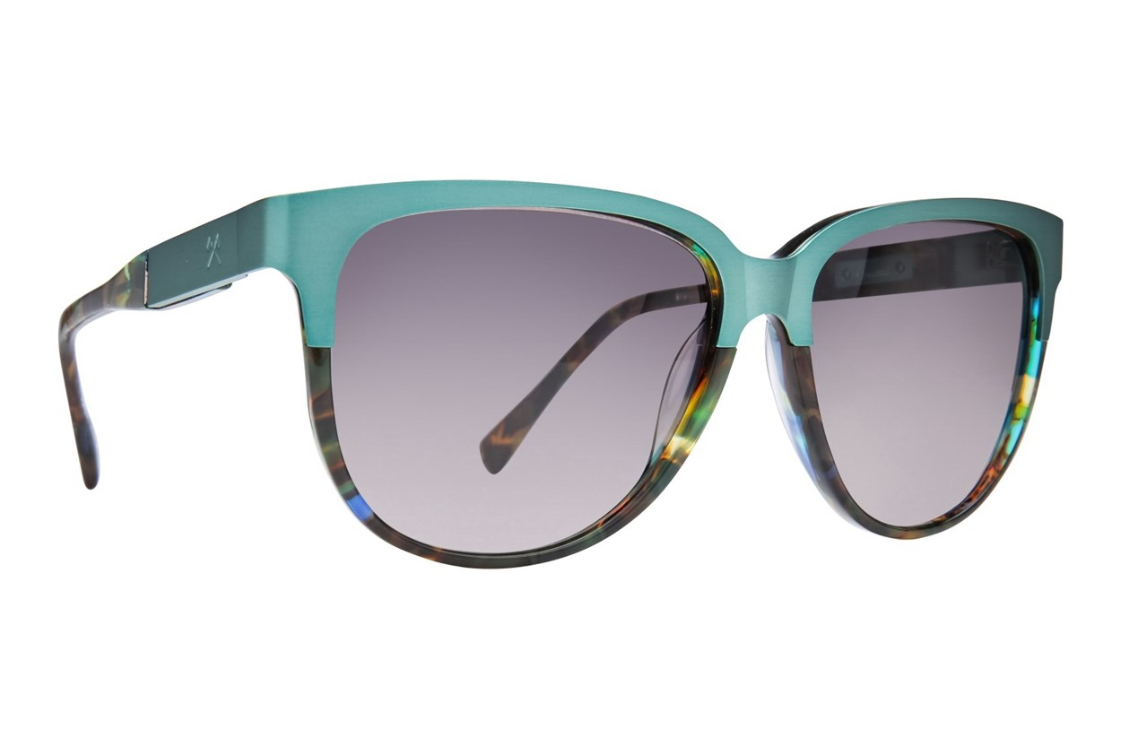 Shwood Mckenzie Titanium Blue Sunglasses