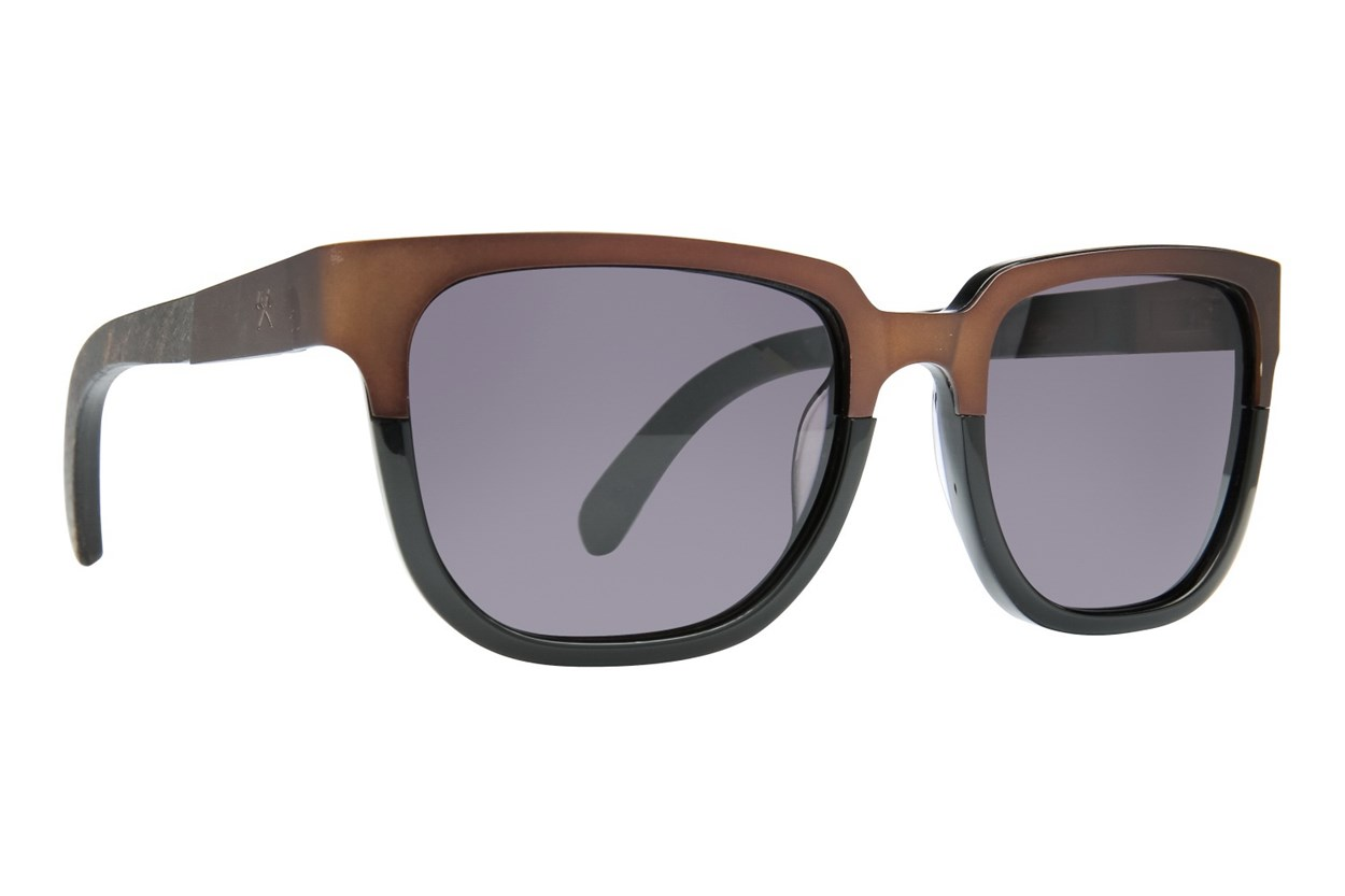 Shwood Prescott Titanium Brown Sunglasses