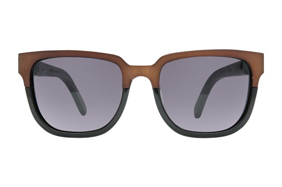 Shwood Prescott Titanium Brown Sunglasses