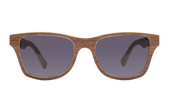 Shwood Canby Wood Sun Brown Sunglasses