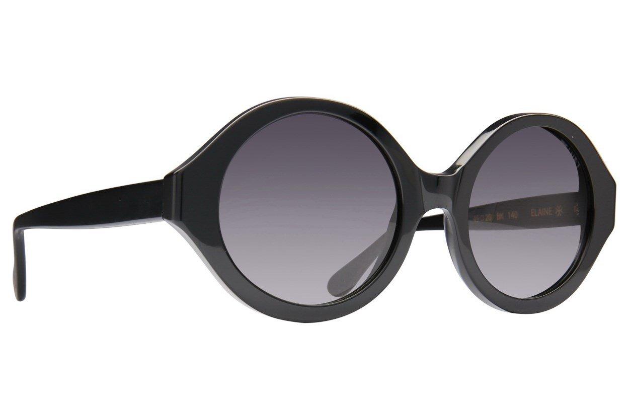 Velvet Eyewear Elaine Black Sunglasses