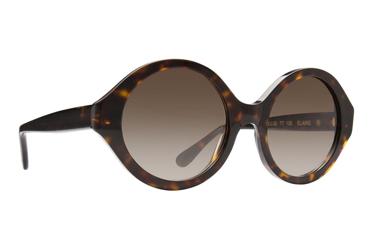 Velvet Eyewear Elaine Tortoise Sunglasses