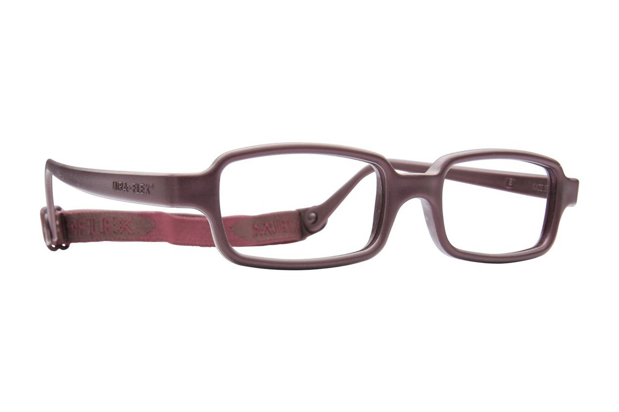 Miraflex New Baby 2 (5-8 Yrs) Brown Glasses