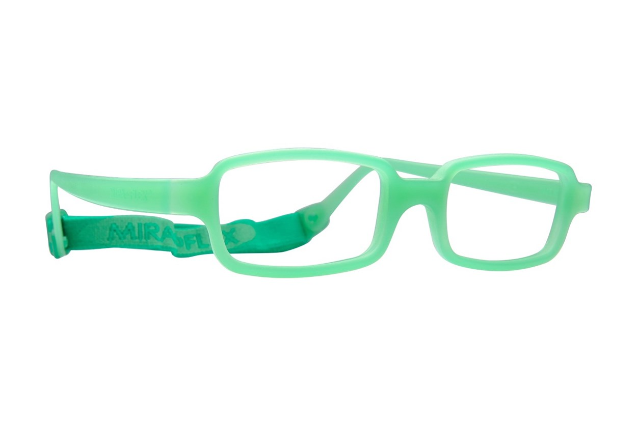 Miraflex New Baby 2 (5-8 Yrs) Eyeglasses - Green