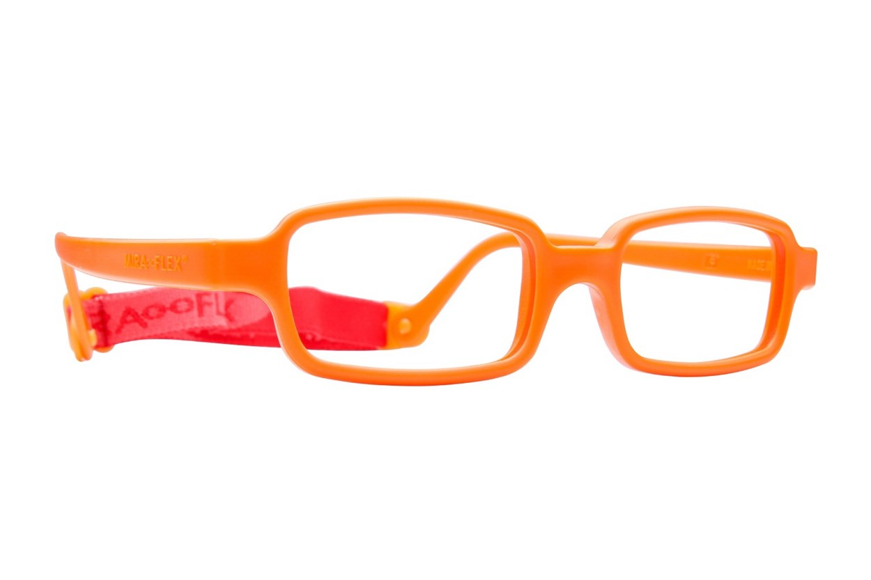 Miraflex New Baby 2 (5-8 Yrs) Orange Glasses