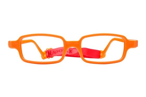 Miraflex New Baby 2 (5-8 Yrs) Orange Glasses