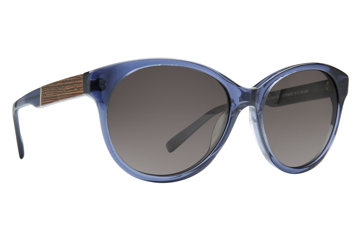 Shwood Madison Sun Blue Sunglasses