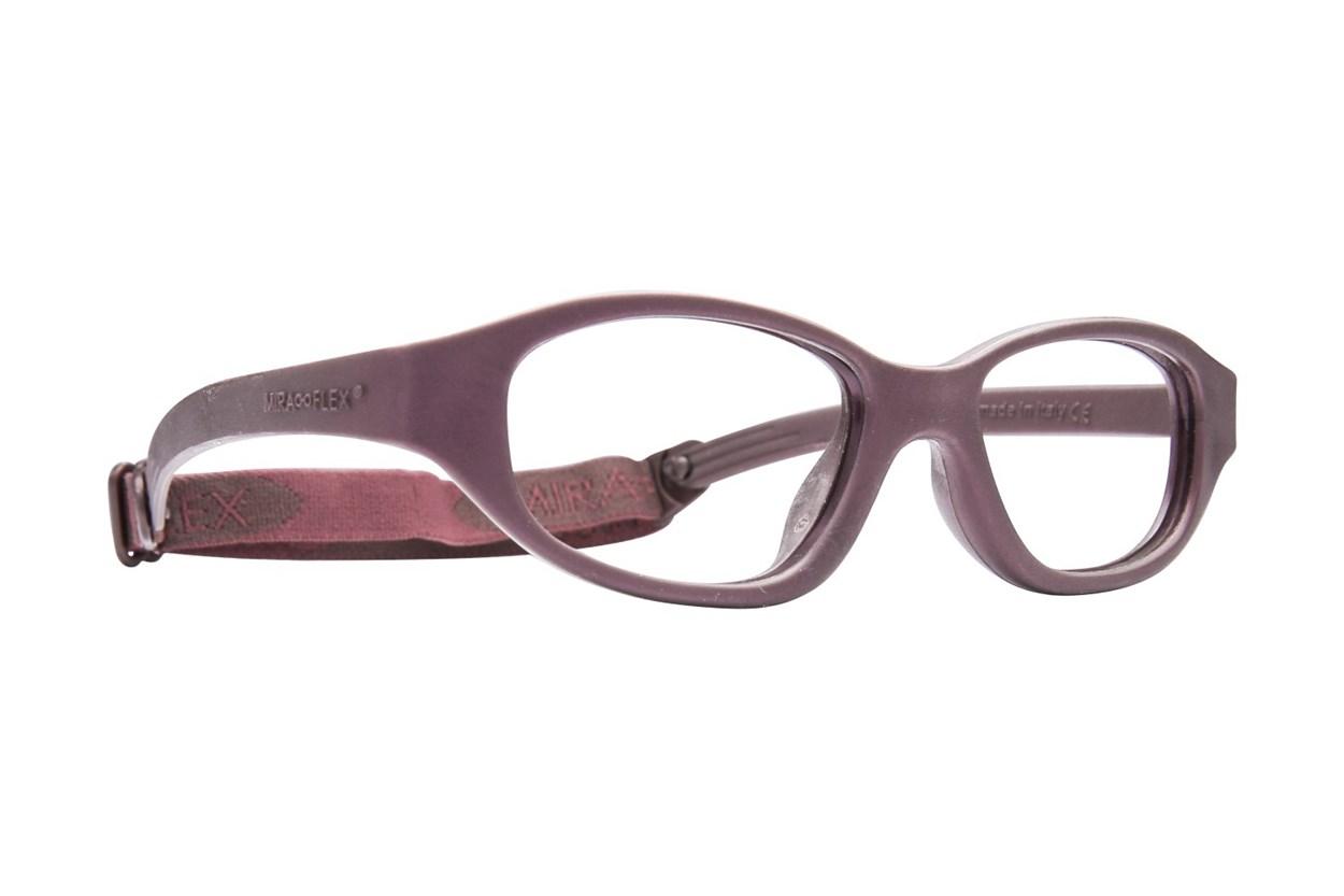 Miraflex Eva (7-10 Yrs) Brown Glasses