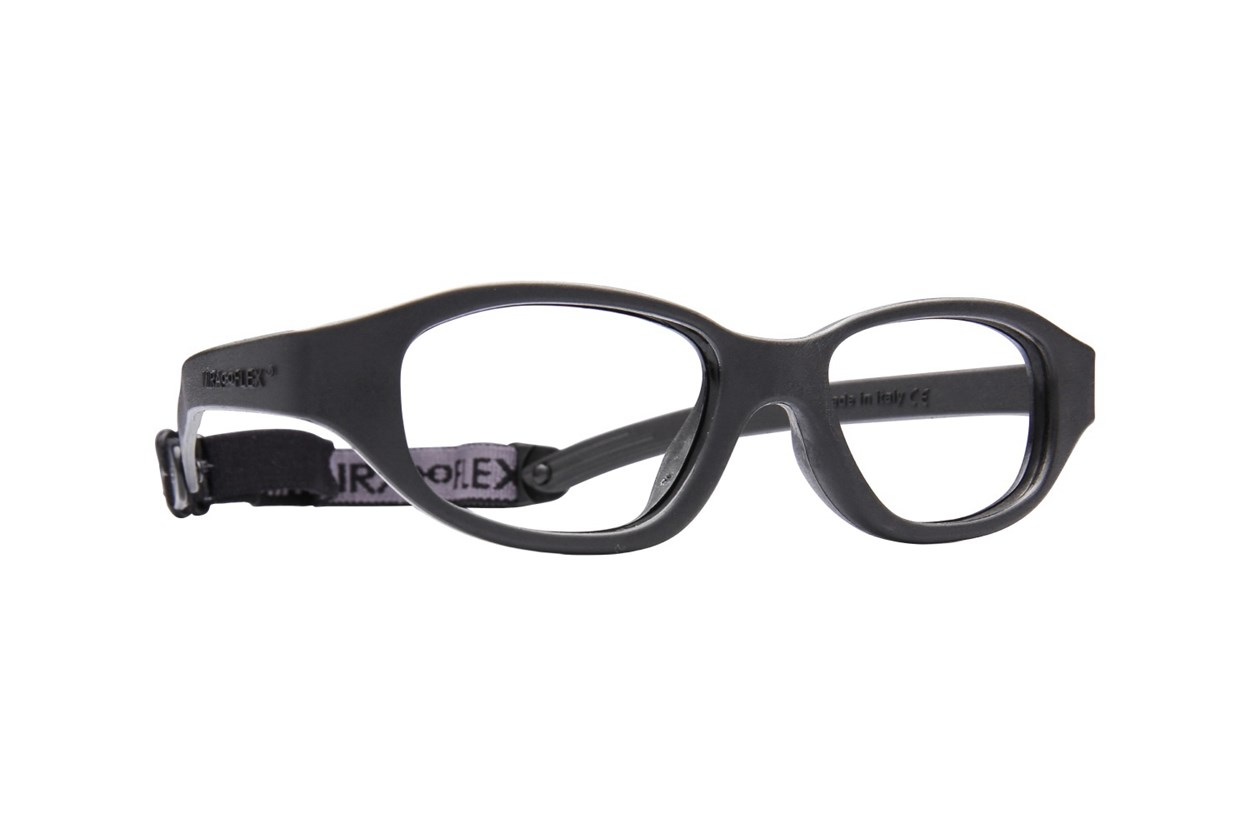 Miraflex Eva (7-10 Yrs) Black Glasses