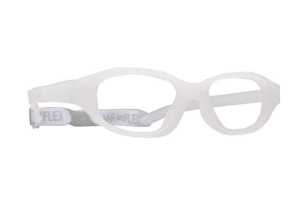 Miraflex Eva (7-10 Yrs) White Glasses