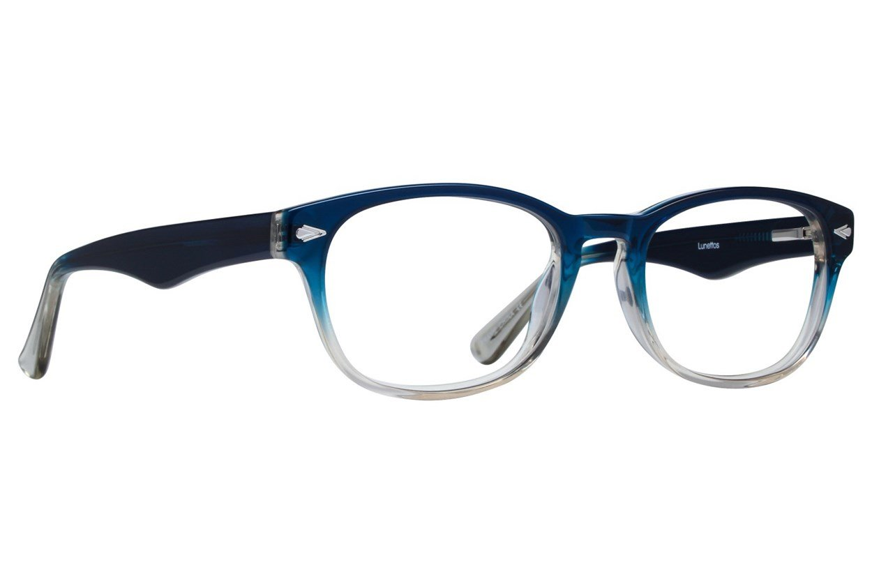 Lunettos Alex Blue Glasses