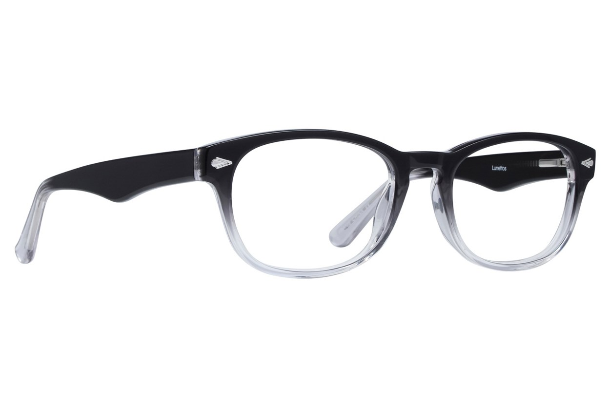 Lunettos Alex Black Glasses
