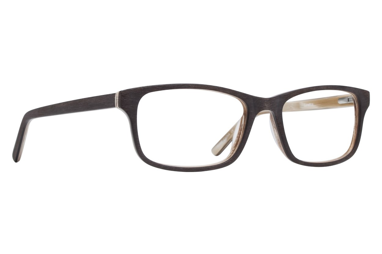 Lunettos Andy Brown Glasses