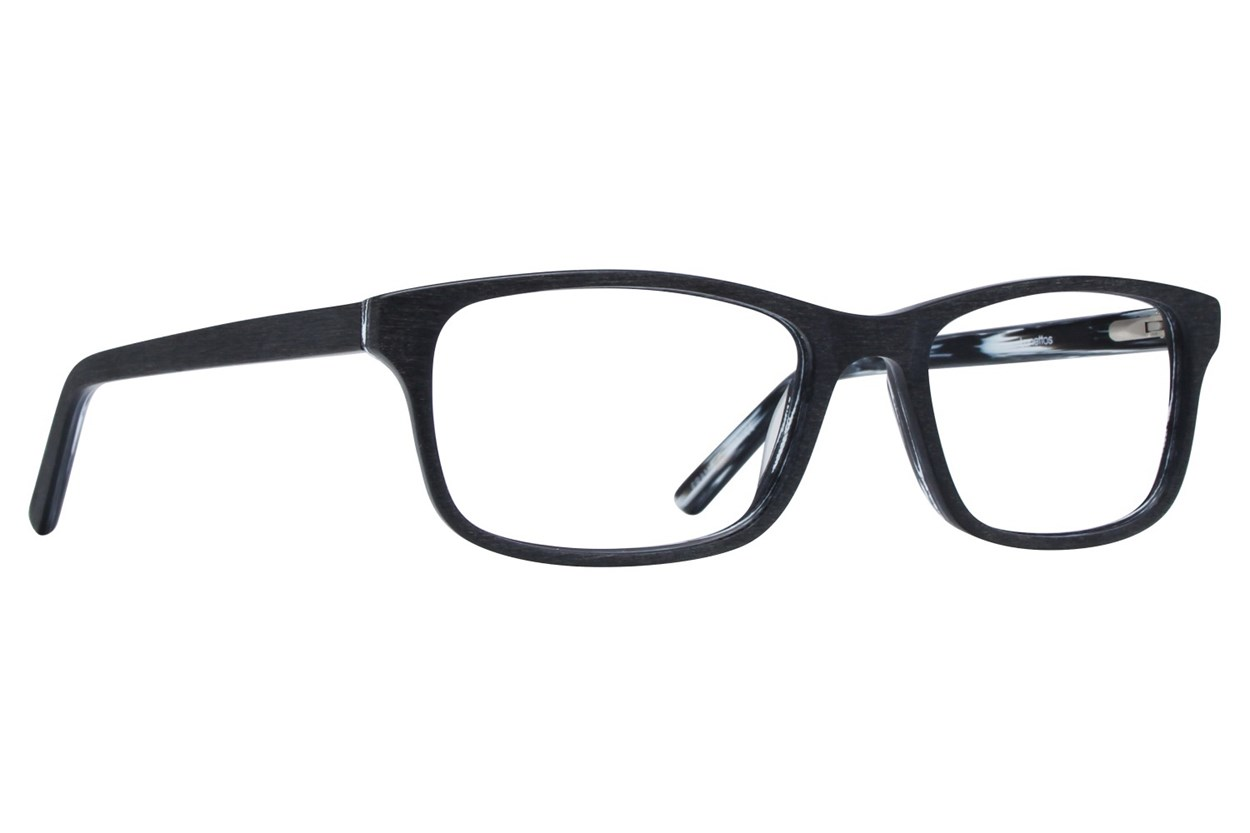 Lunettos Andy Black Glasses