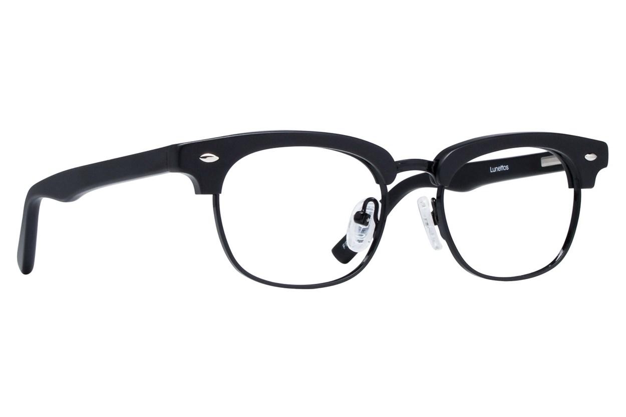 Lunettos Cameron Black Glasses