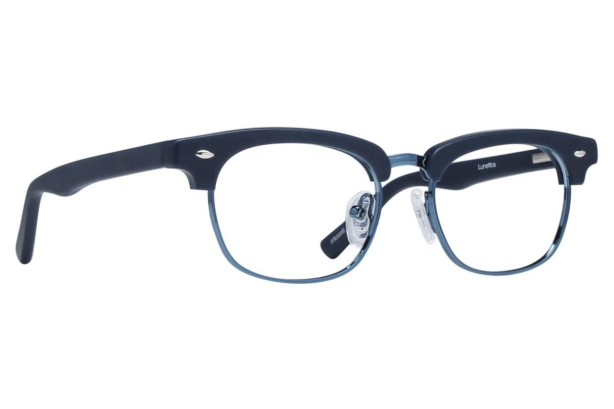 Lunettos Cameron Blue Glasses