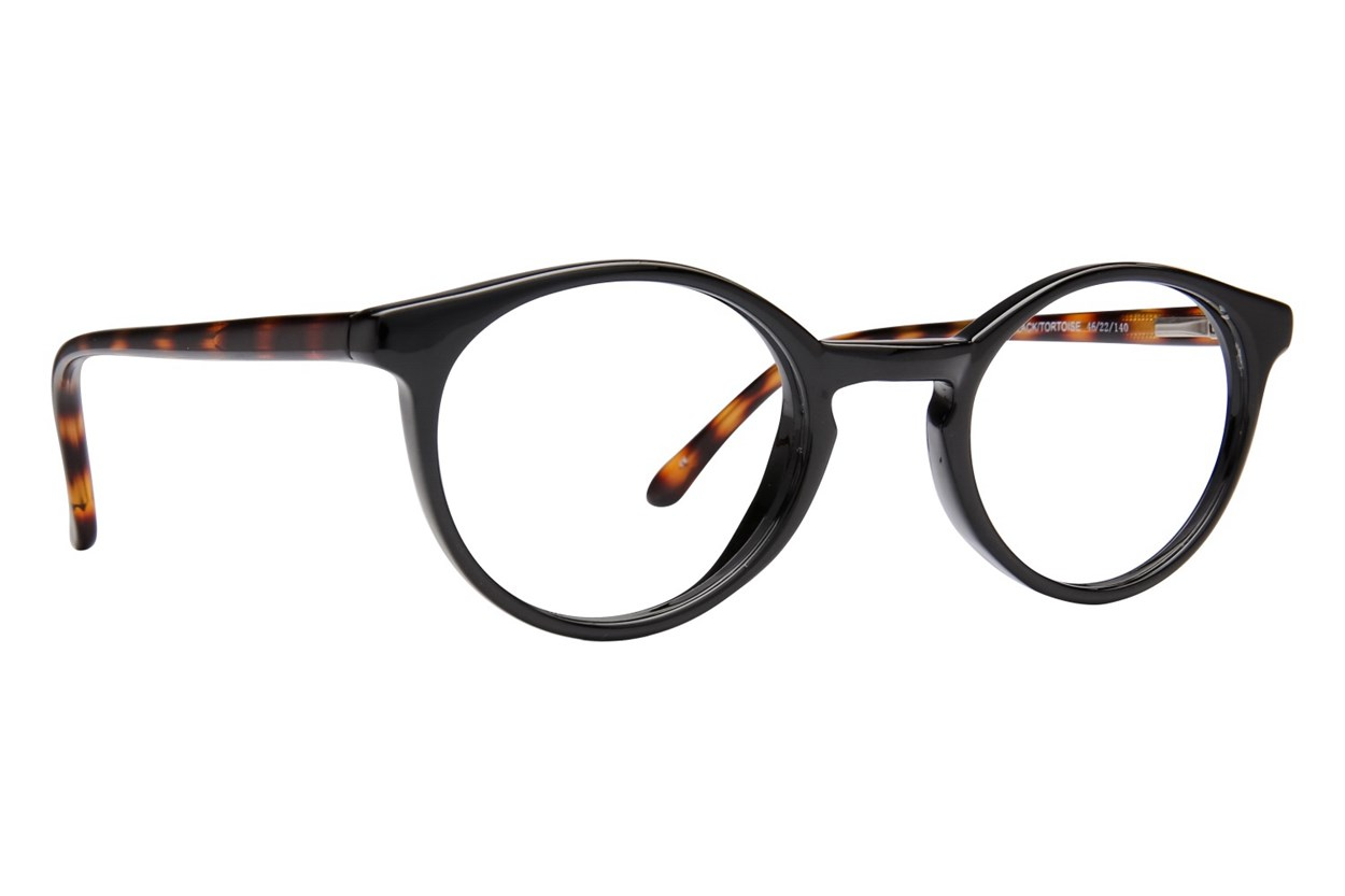 Lunettos Charlie Black Glasses
