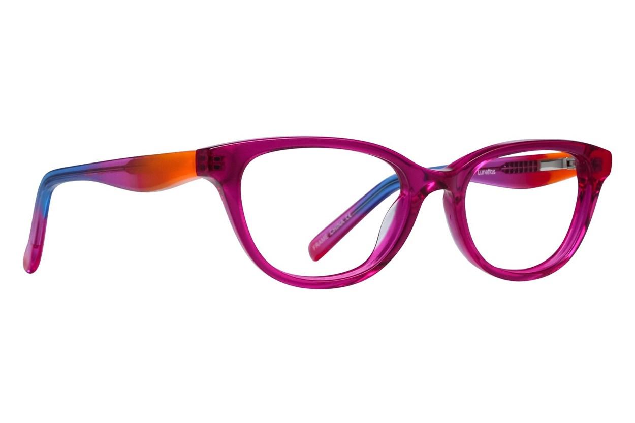 Lunettos Declan Pink Glasses