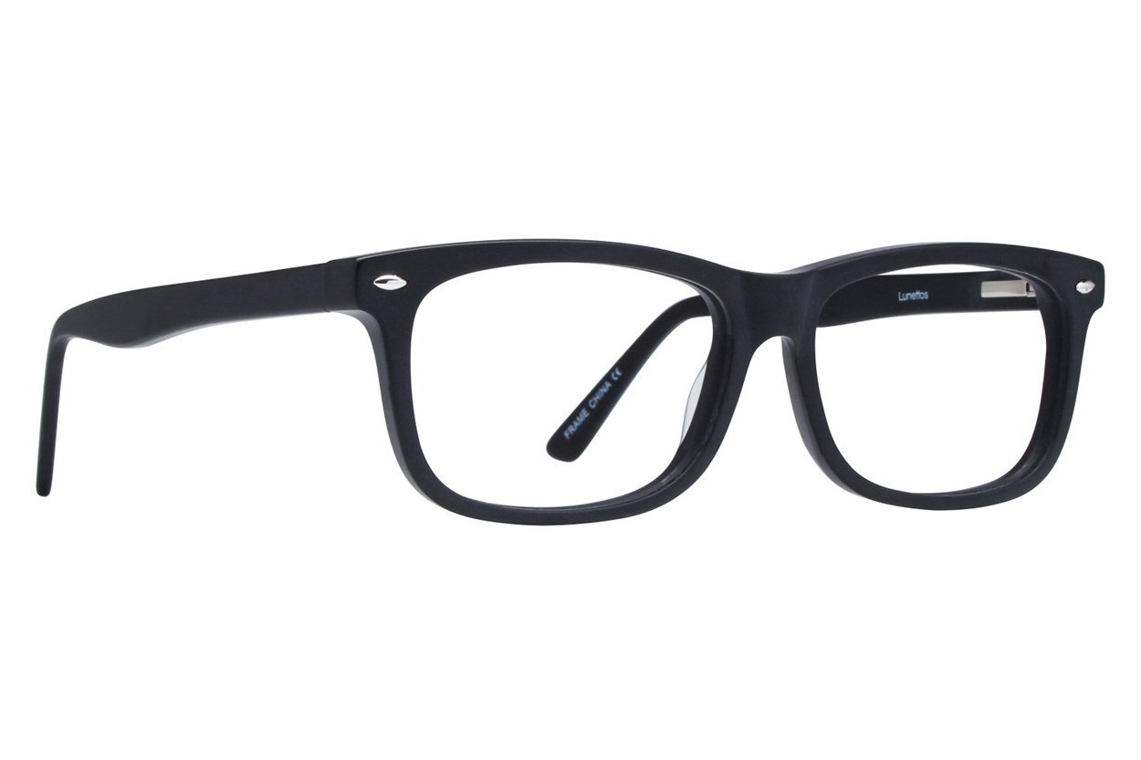 Lunettos Dylan Black Glasses