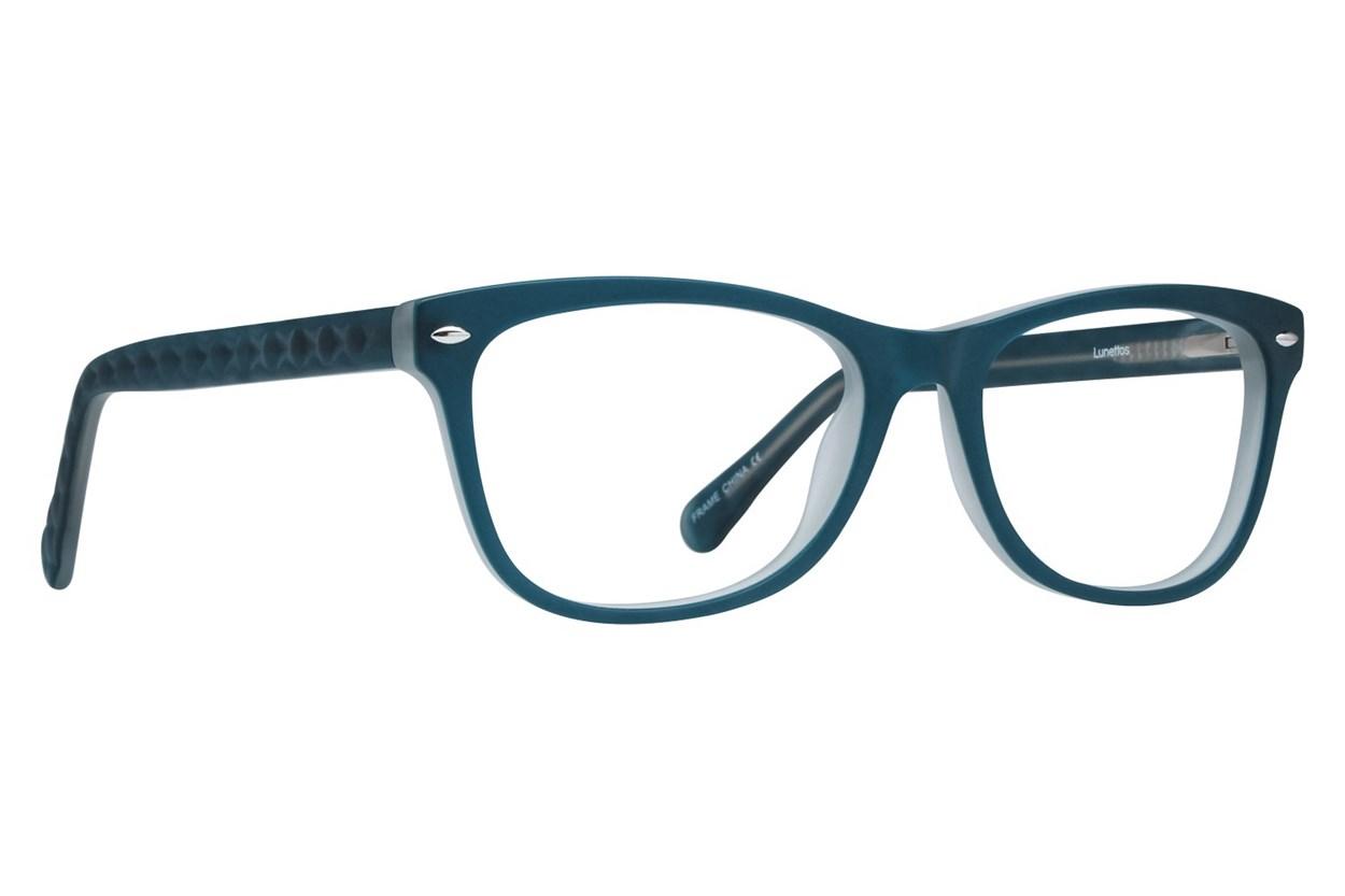 Lunettos Georgia Blue Glasses