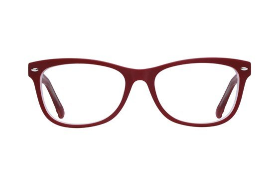 Lunettos Georgia Red Glasses