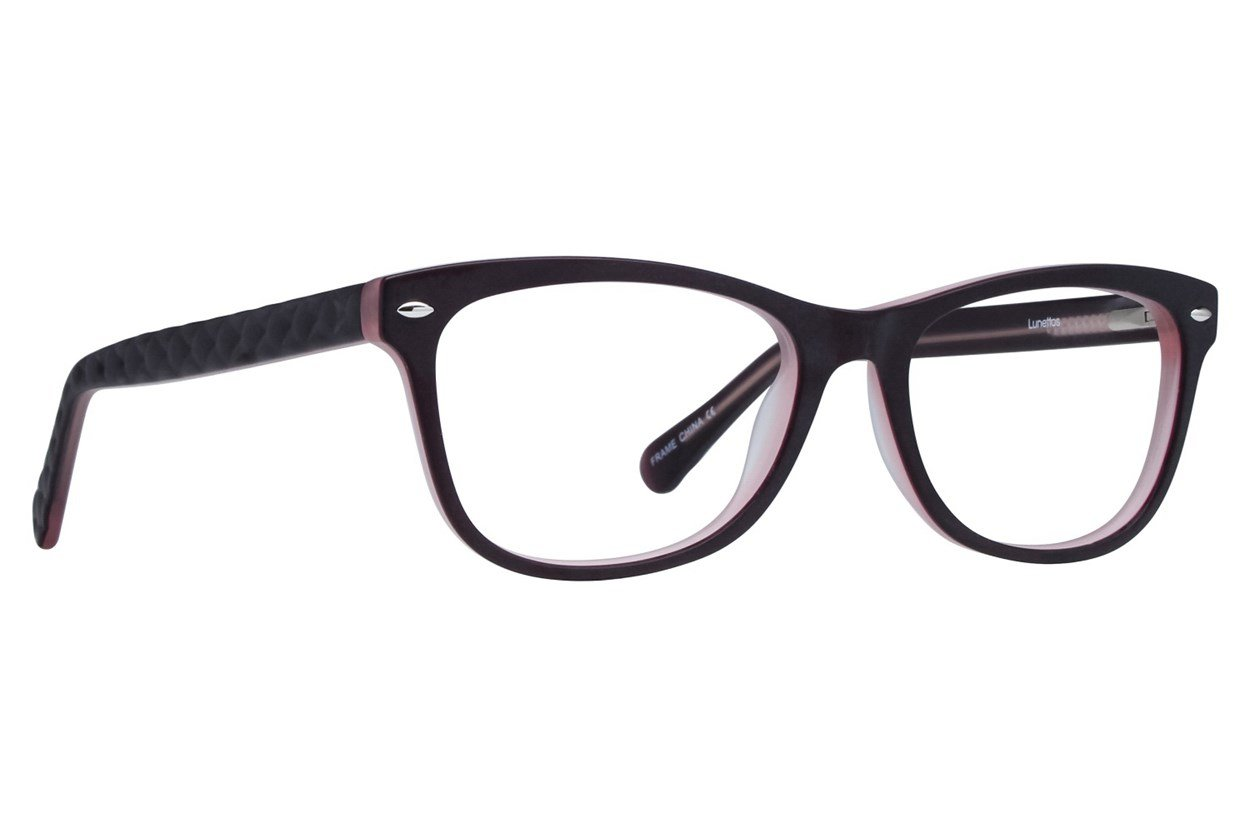 Lunettos Georgia Purple Glasses