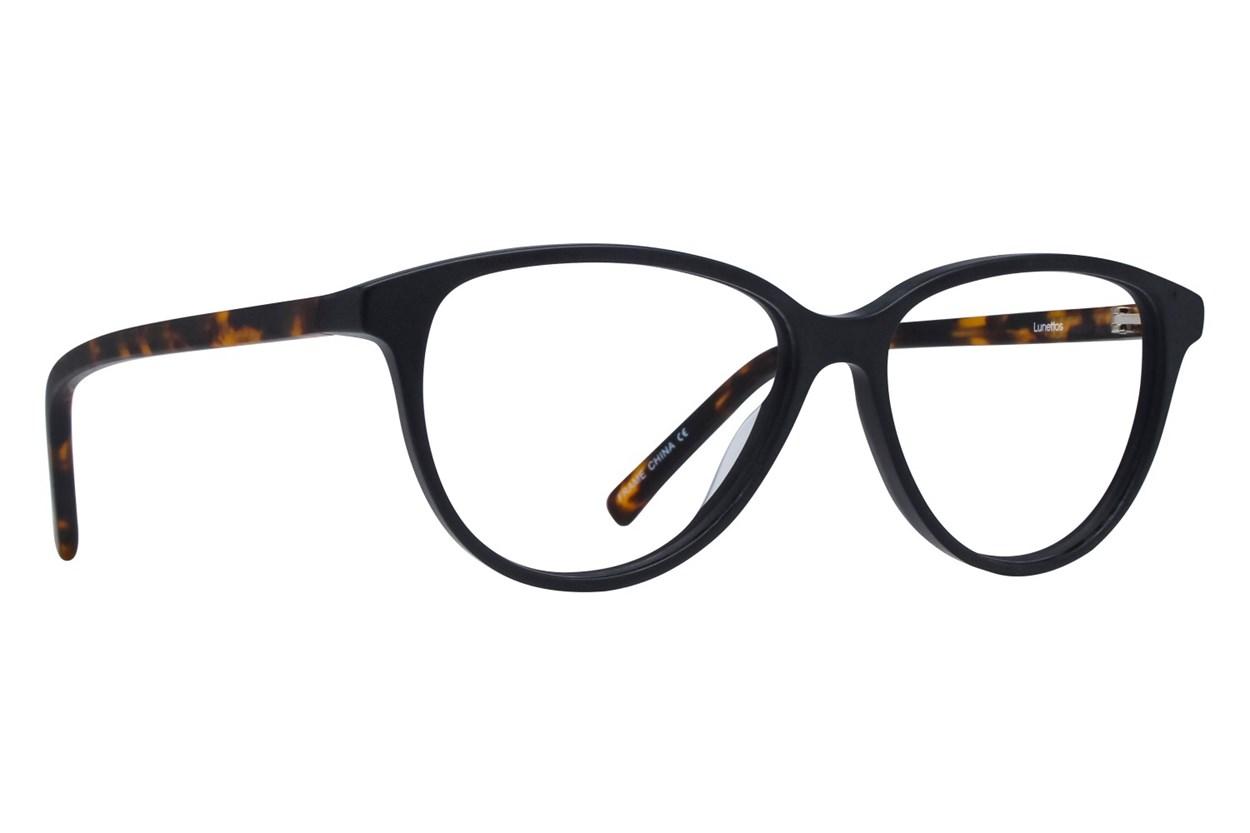 Lunettos Hannah Black Glasses