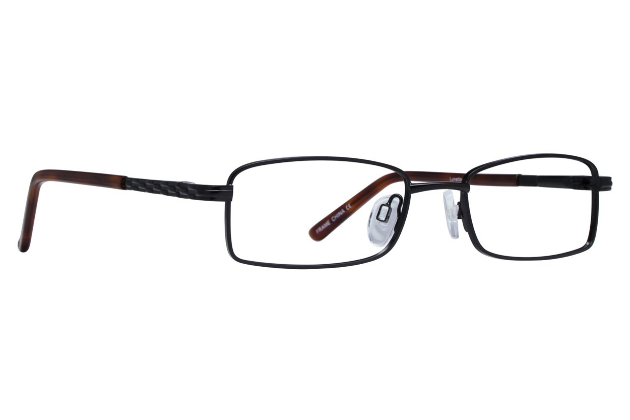 Lunettos Harley Black Glasses